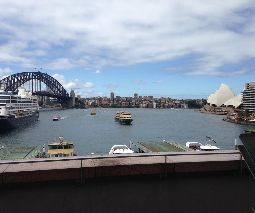 Went on a walk to the harbour #SydneyHarbourBridge #SydneyOperaHouse #Sydney #Australia #NewSouthWales #Travelling #WorldTour by paulspence3 http://ift.tt/1NRMbNv