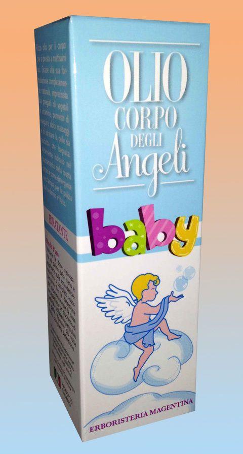 Olio Corpo degli Angeli Baby da 75 ml