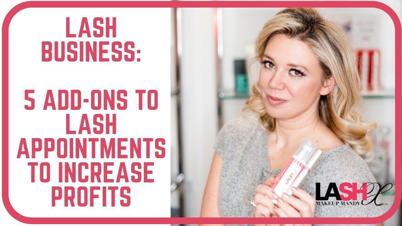 LAsh Business 5 easy Lash Service AddOns to increase