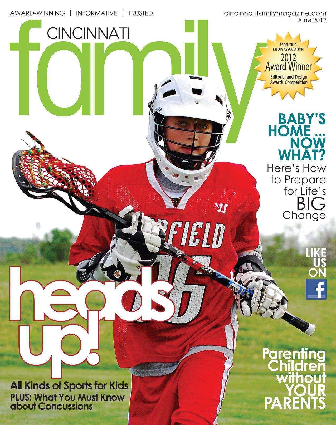 Cincinnati Family Magazine Cover June