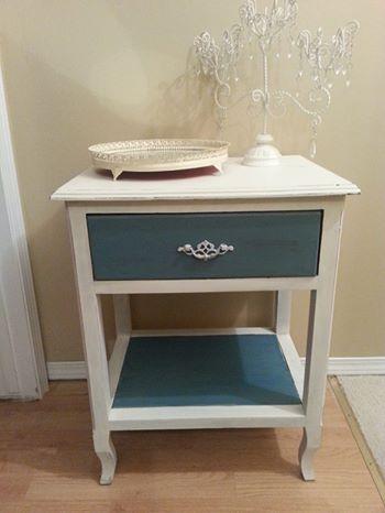 Vintage Side Table redo