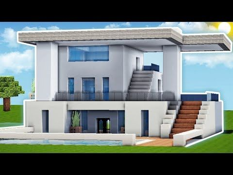 Minecraft: How to Build a Small & Easy Modern House Tutorial (#1 ...