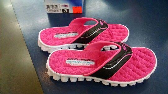 skechers cooling gel flip flops
