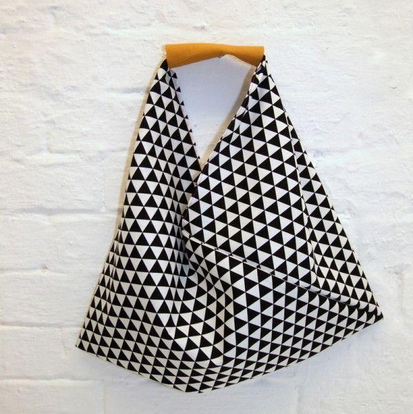 Die Origami-Bag: 30-Minuten-Tasche für Anfänger | Nähen ...