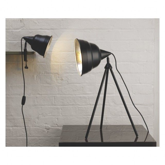 Photographic black metal clamp desk lamp buy now at habitat uk add convenient task lighting or a warm ambience to your space find the perfect lamp for your coffee table or side table shop habitats table lamps now publicscrutiny Image collections