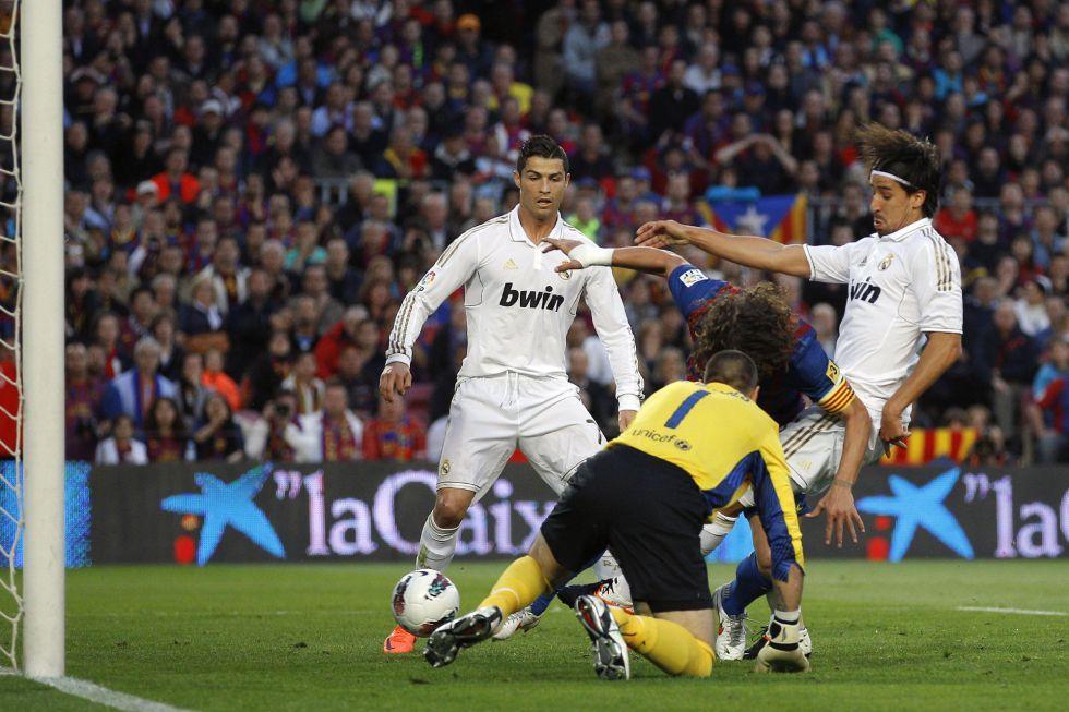 Khedira marca el primer gol del partido. Daniel Ochoa de Olza (AP)