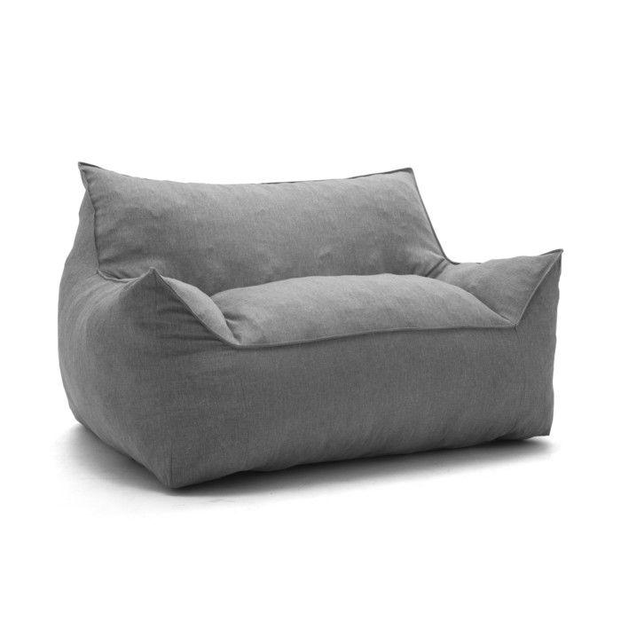 Joe Lux Bean Bag Sofa Lounge Chair Couch