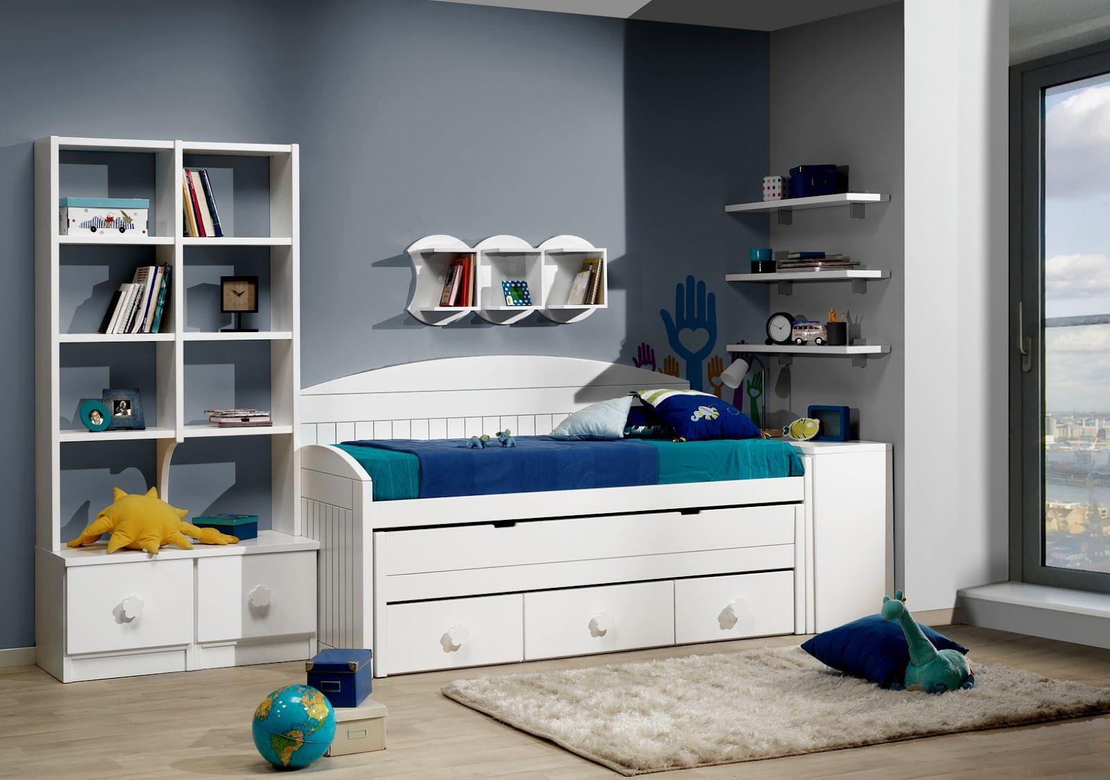 Dormitorios habitaciones juveniles e infantiles lacadas dormitorios juveniles habitaciones - Habitaciones juveniles blancas ...
