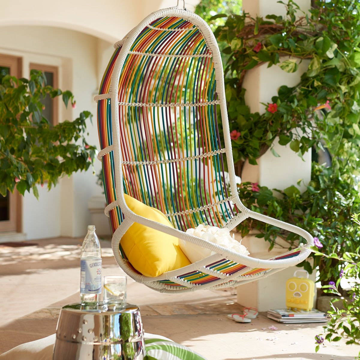 . Willow Swingasan    Rainbow   Pier 1 Imports   Sheila s Tropical