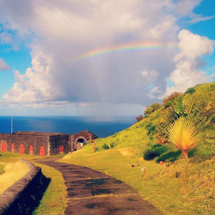 Who Flies To St Kitts: St. Kitts #caribbean #stkitts #landscapes