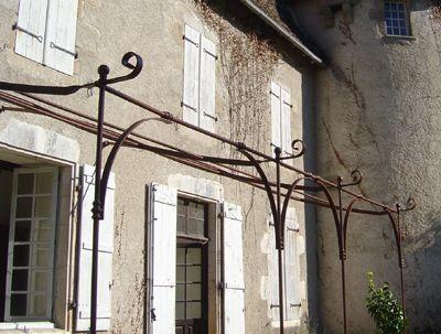 auvent pergola jasmin exemple8 jardinage pinterest auvents pergola et jasmin. Black Bedroom Furniture Sets. Home Design Ideas