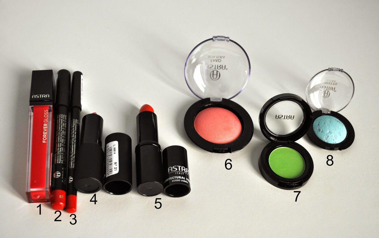 Astra review- Il make-up italiano col miglior rapporto qualità-prezzo.