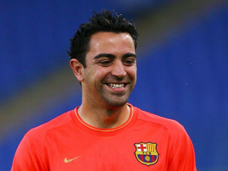 Xavi, jugador de la equipa de fútbol de España #deporte #fútbol