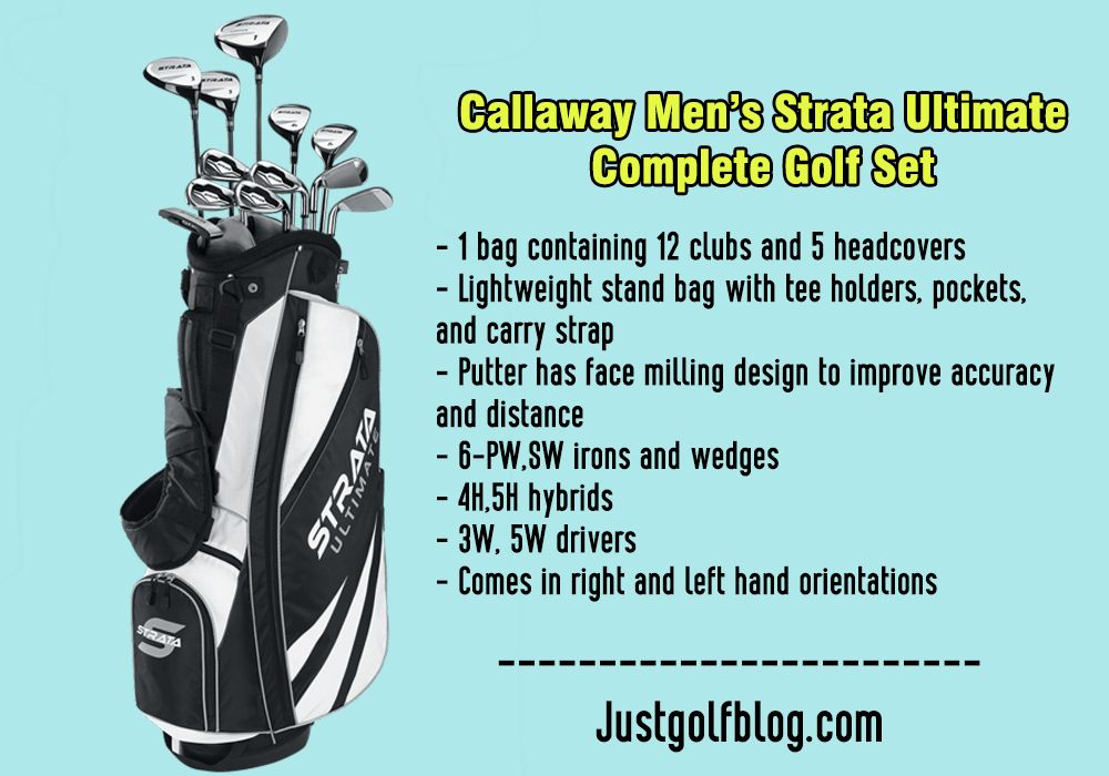 27++ Best mens golf club sets for beginners information
