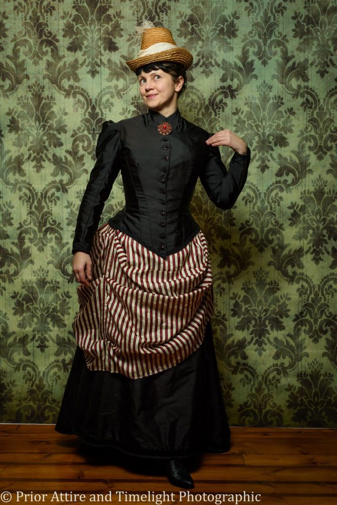 Victorian Bustle Day Dress Size 12 14 Things I Make Historical Attire Pinterest And