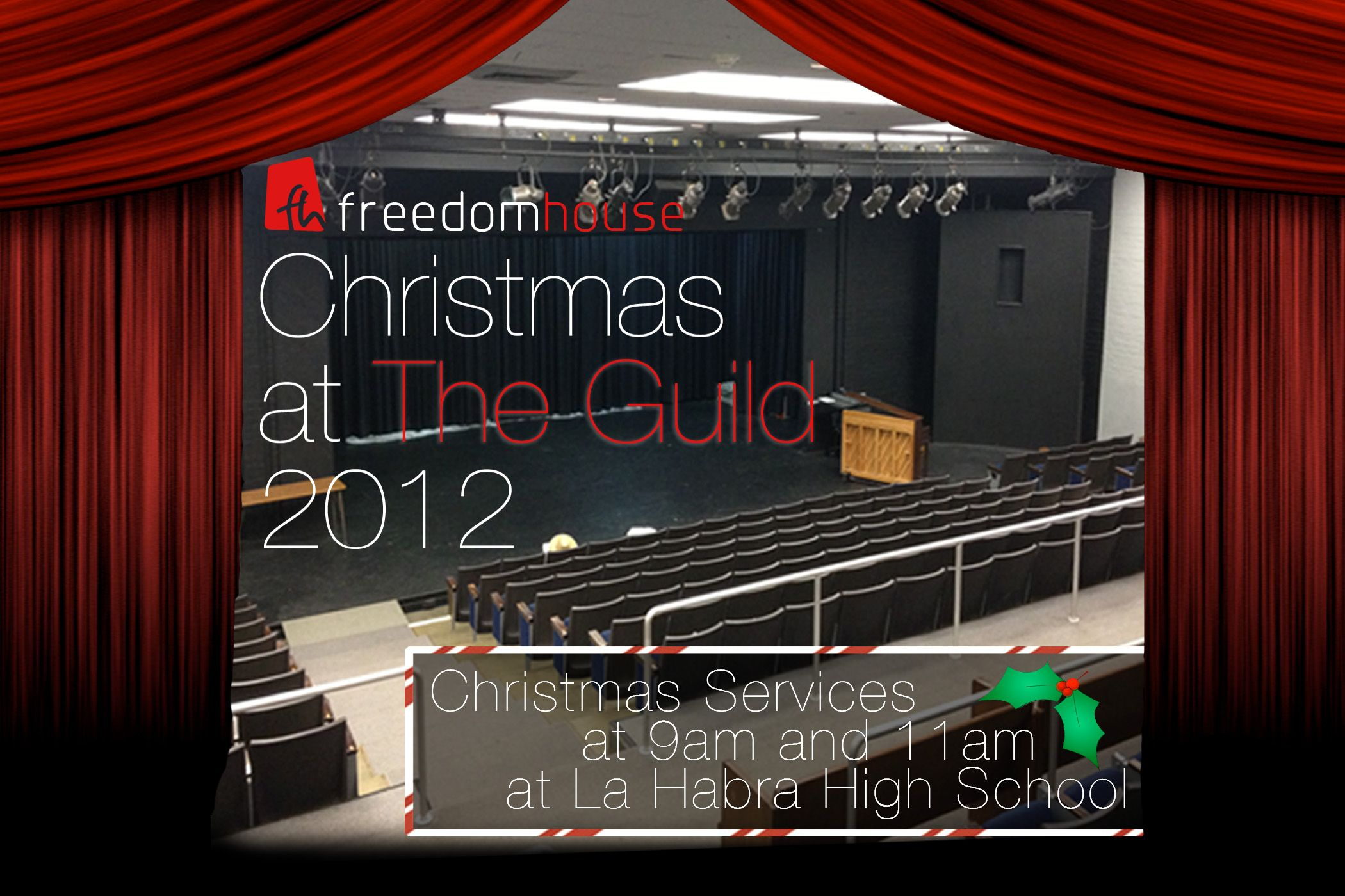 Freedomhouse is taking christmas to the guild cannot wait