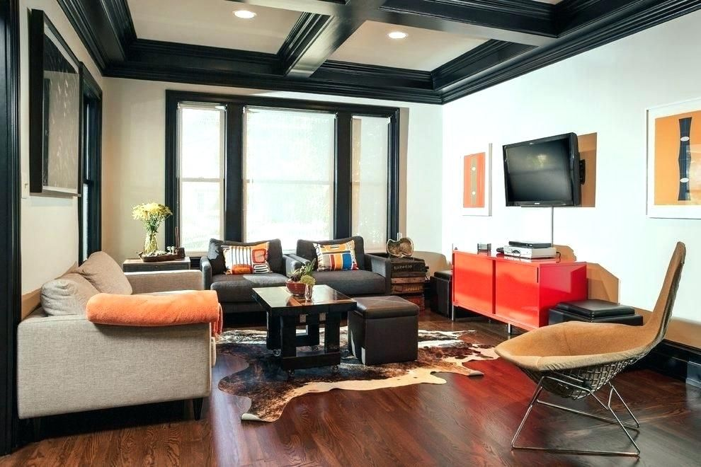 Coffered Ceiling Color Ideas Paint Living Room With Black Beams Media Cabinet Home Depot Hours Nyc