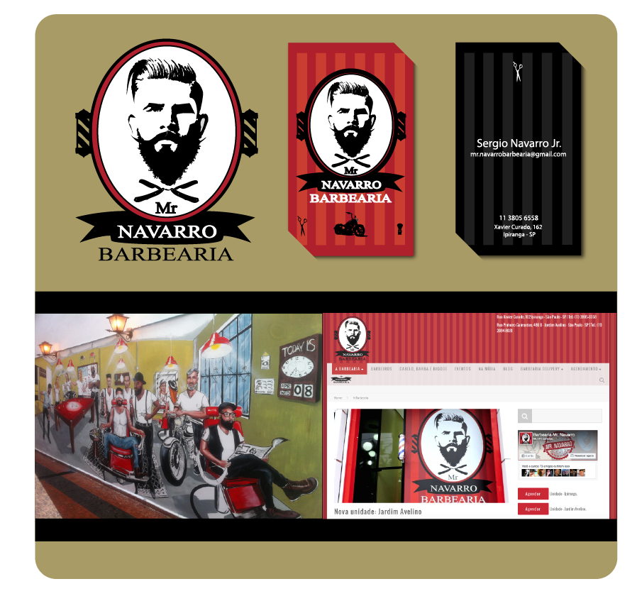 Mrvarro barber shop logo and business cards and urban art mrvarro barber shop logo and business cards and urban art created by anderson monteiro colourmoves