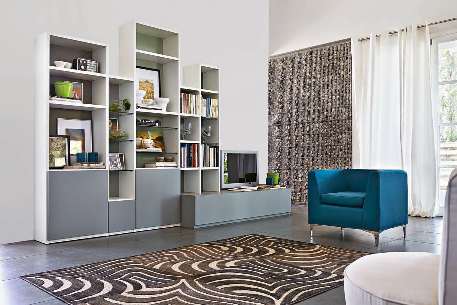 Librerie componibili: i mobili più \