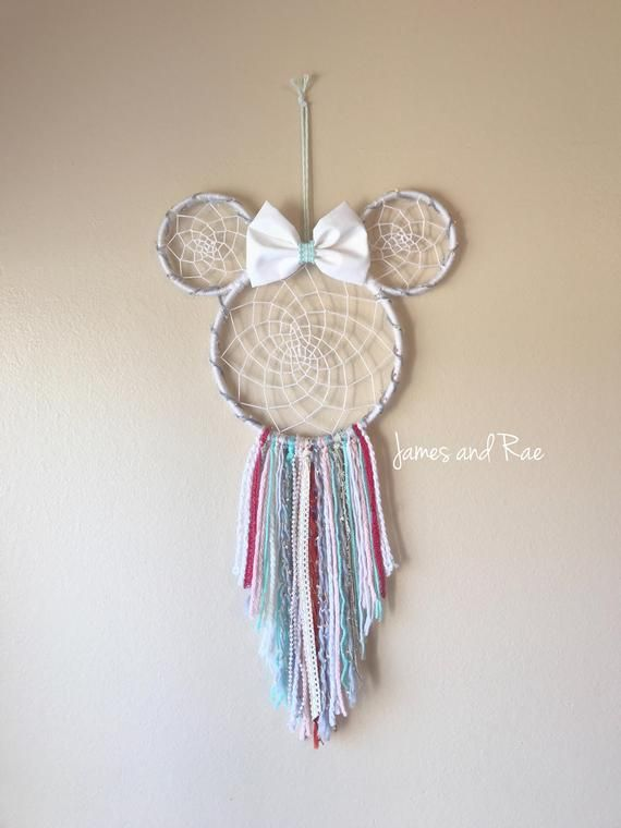 Photo of Minnie Dream Catcher Shabby Chic kids room decor