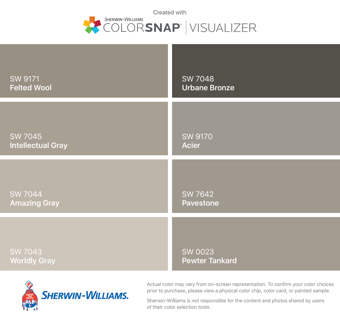 I Found These Colors With Colorsnap Visualizer For Iphone By Sherwin Williams Felte Sherwin Williams Paint Colors Kilim Beige Exterior Paint Colors For House