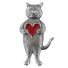 cat jewelry - pin