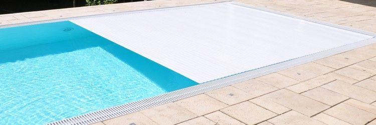 Pool Rolladen Rollo Abdeckung Elektrisch Vollautomatisch Mit Funk Und Fernbedienung Skimmer Pool Pool Komplettset Poolabdeckung