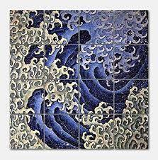 waves oriental japan prints - Buscar con Google