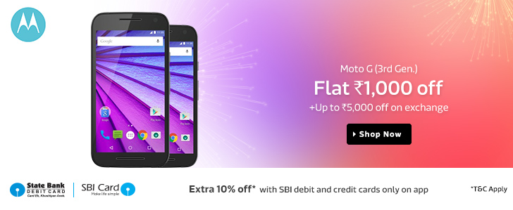 Moto G Turbo, Lenovo K3 Note A6000 Plus Flipkart Coupons: