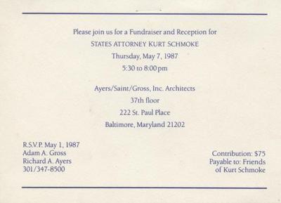 Political Fundraiser Invitations  Political Fundraiser