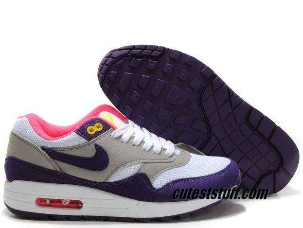 bb71d2c36bd9 ... purchase womens nike air max 1 club purple white matte silver violet  blanc argmat shoes under