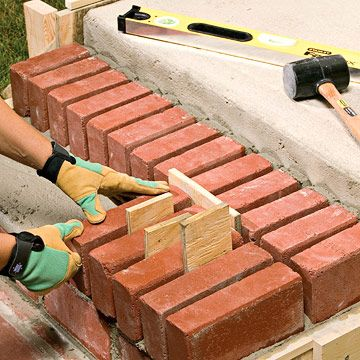 Best How To Finish Your Steps With Mortared Brick Brick Steps 400 x 300