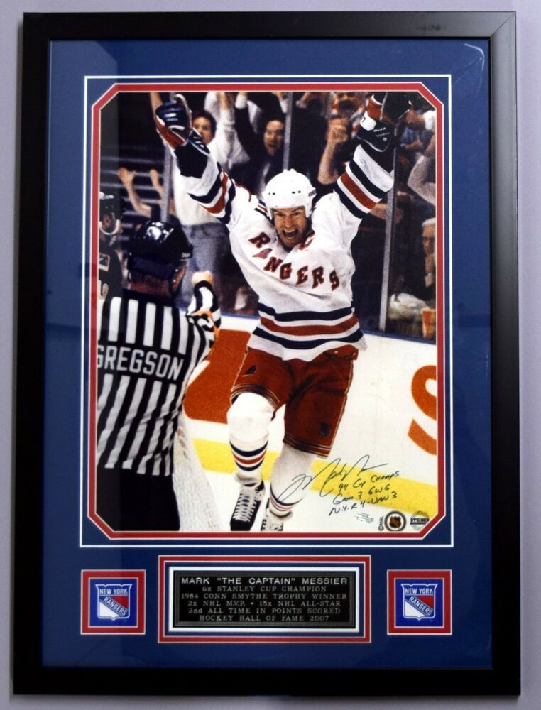 84cd9ad03b4 MARK MESSIER SIGNED AUTO AUTOGRAPH 1994 NY RANGERS STANLEY CUP STEINER LIKE  UDA