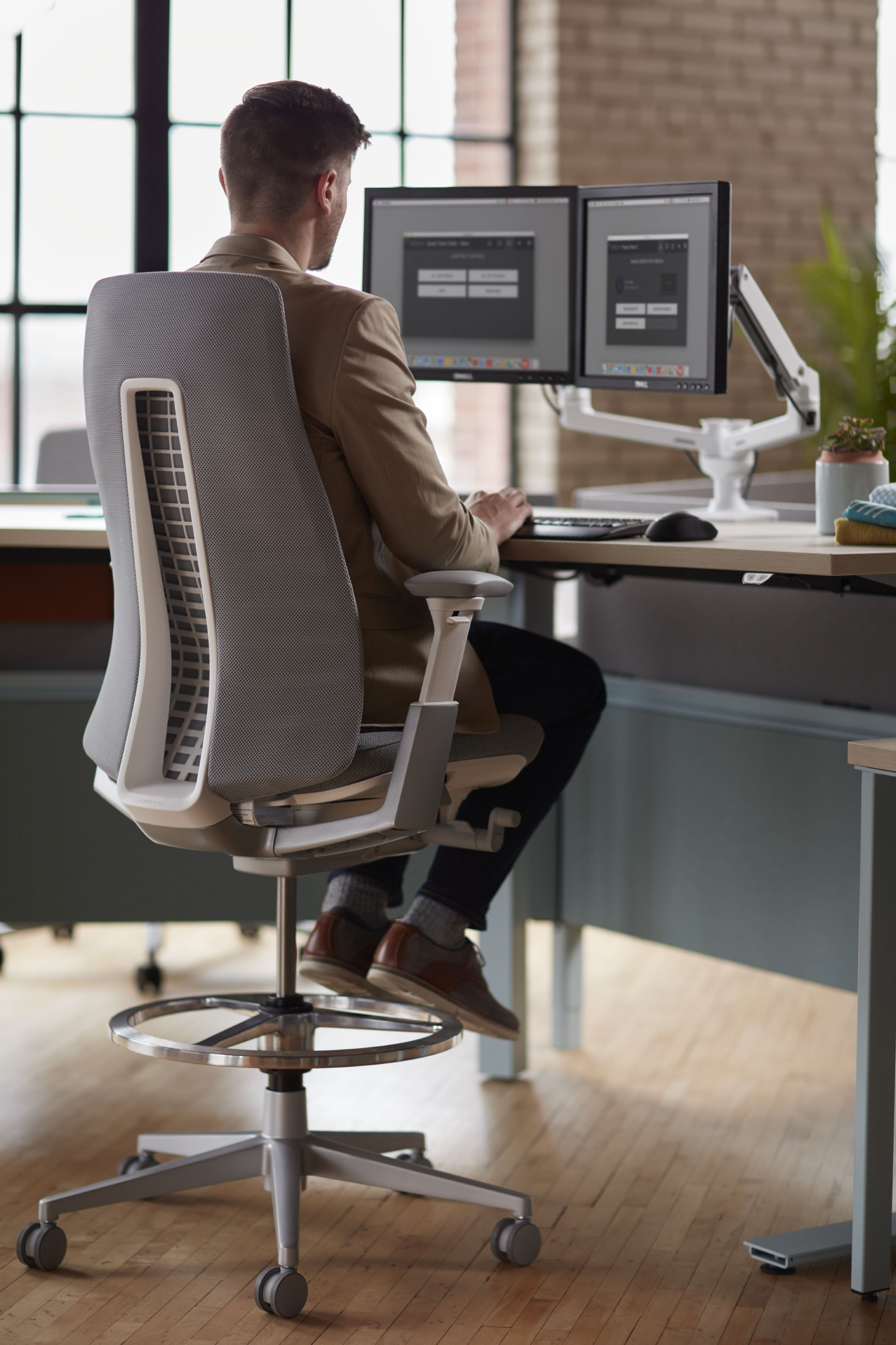The Fern task chair, designed by Haworth Design Studio and ITO
