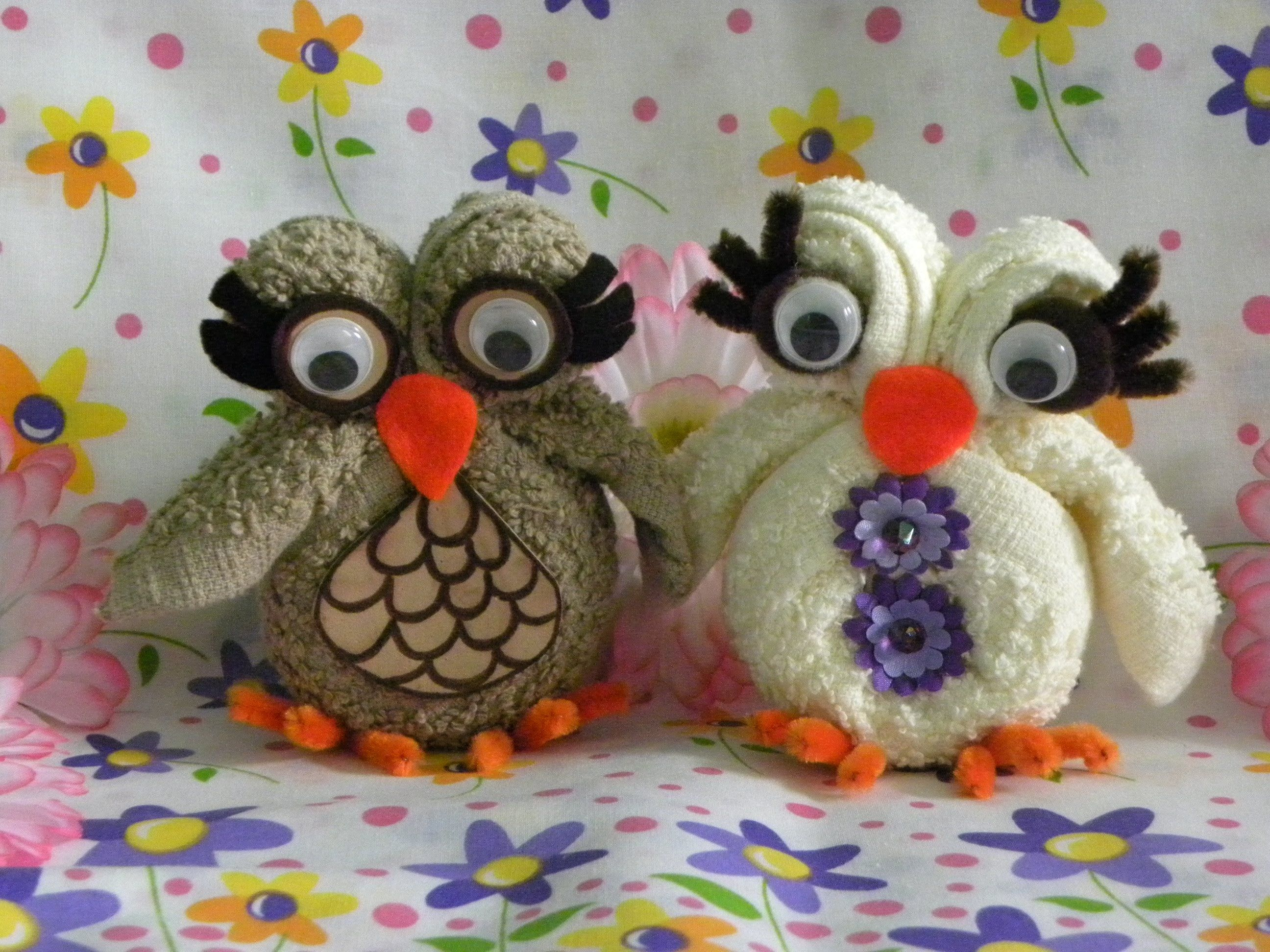 Video of how to make a super cute little owl from a ... - photo#29