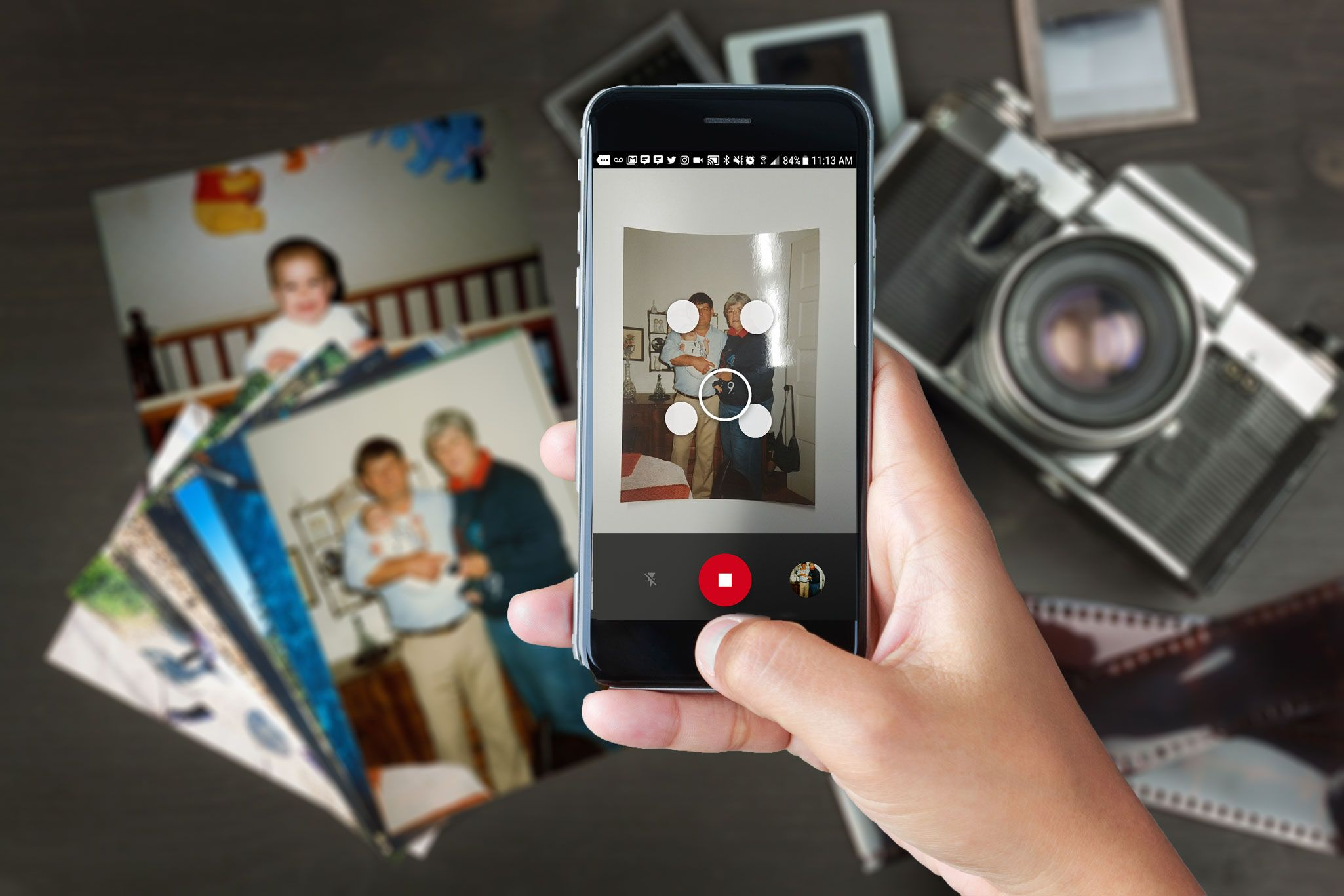 Are photo scanning mobile apps good enough? A Google
