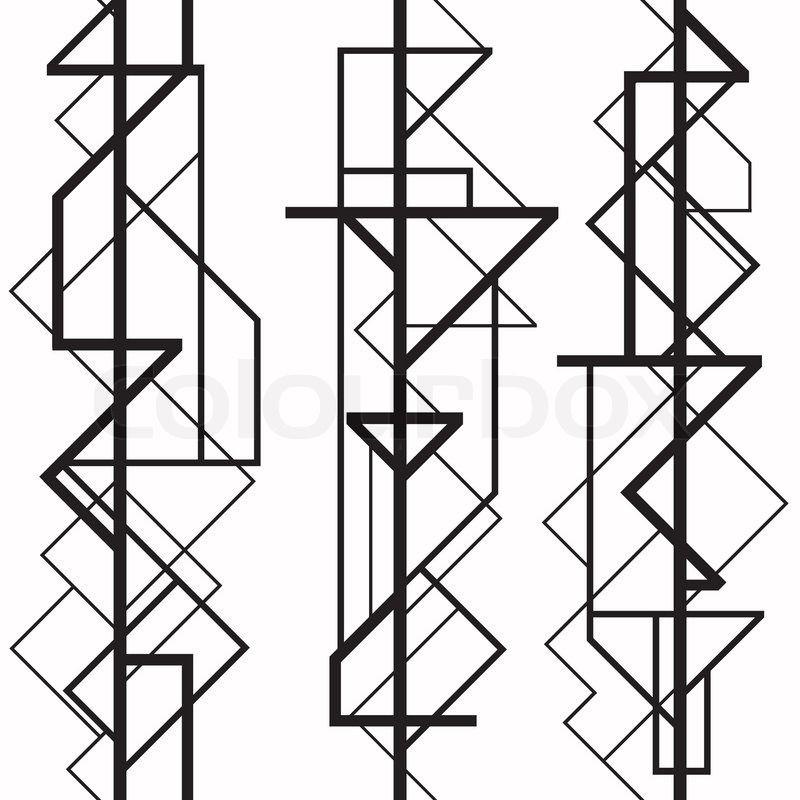 7190014-art-deco-geometric-pattern-1920-s-style.jpg (800×800 ...