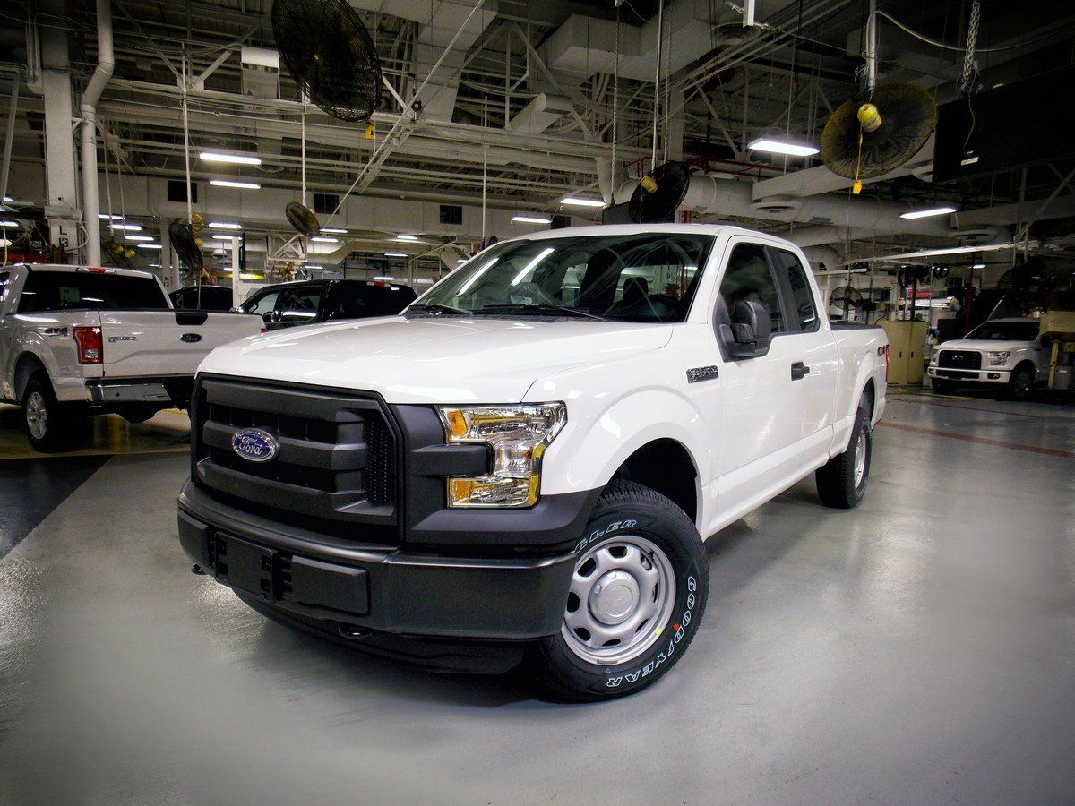 The first 2016 Ford F-150 with the ability to run on clean-burning compressed natural gas has rolled off the assembly line, making Ford – America's truck l