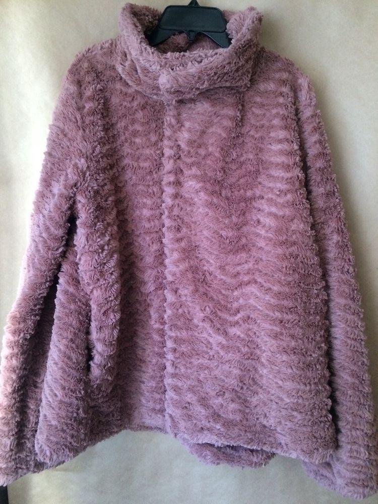 Patagonia Pelage Faux Fur Women's Size Large Jacket