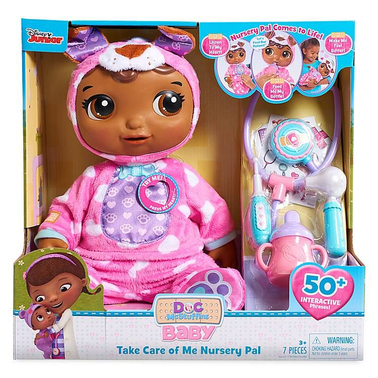Doc Mcstuffins Take Care Of Me Nursery Pal For Kids Shopdisney Doc Mcstuffins Toys Interactive Baby Dolls Interactive Baby