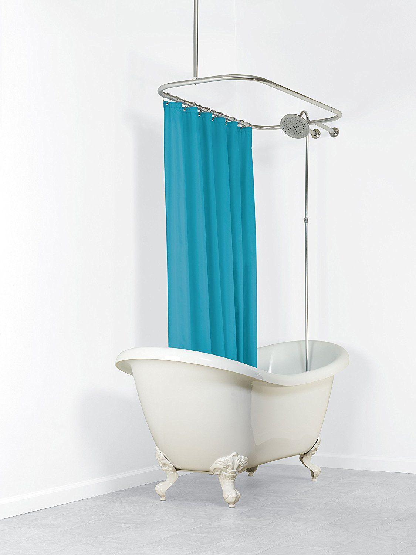 Amazon Com Zenna Home 34941ss Neverrust Aluminum Hoop Shower