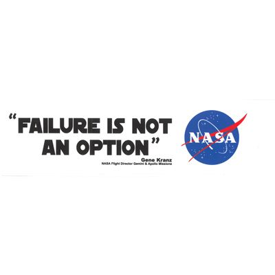 Failure Is Not An Option Apollo 13 Working On New Projects