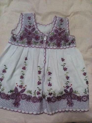 d581c3839 Vestidos De Niña Bordados Típicos De Yucatan - $ 210.00 | kids ...