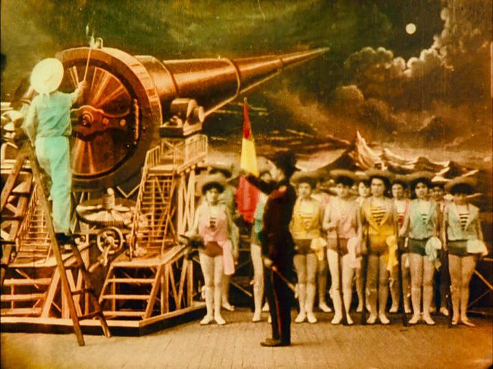 Le Voyage dans la Lune (Georges Melies 1902) Tableau 5