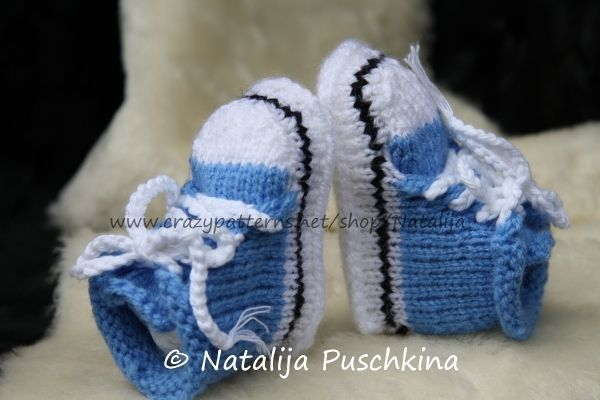 Strickanleitung Babyschuhe Converse Baby Chucks Sehr Süße Baby