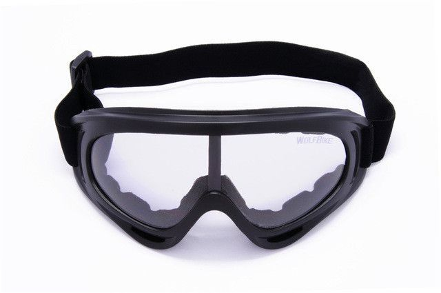f110f5dea61 WOSAWE UV Protection Sports Ski Snowboard Skate Goggles Glasses Outdoor  Motorcycle Ski Goggle Glasses Eyewear Lens Black
