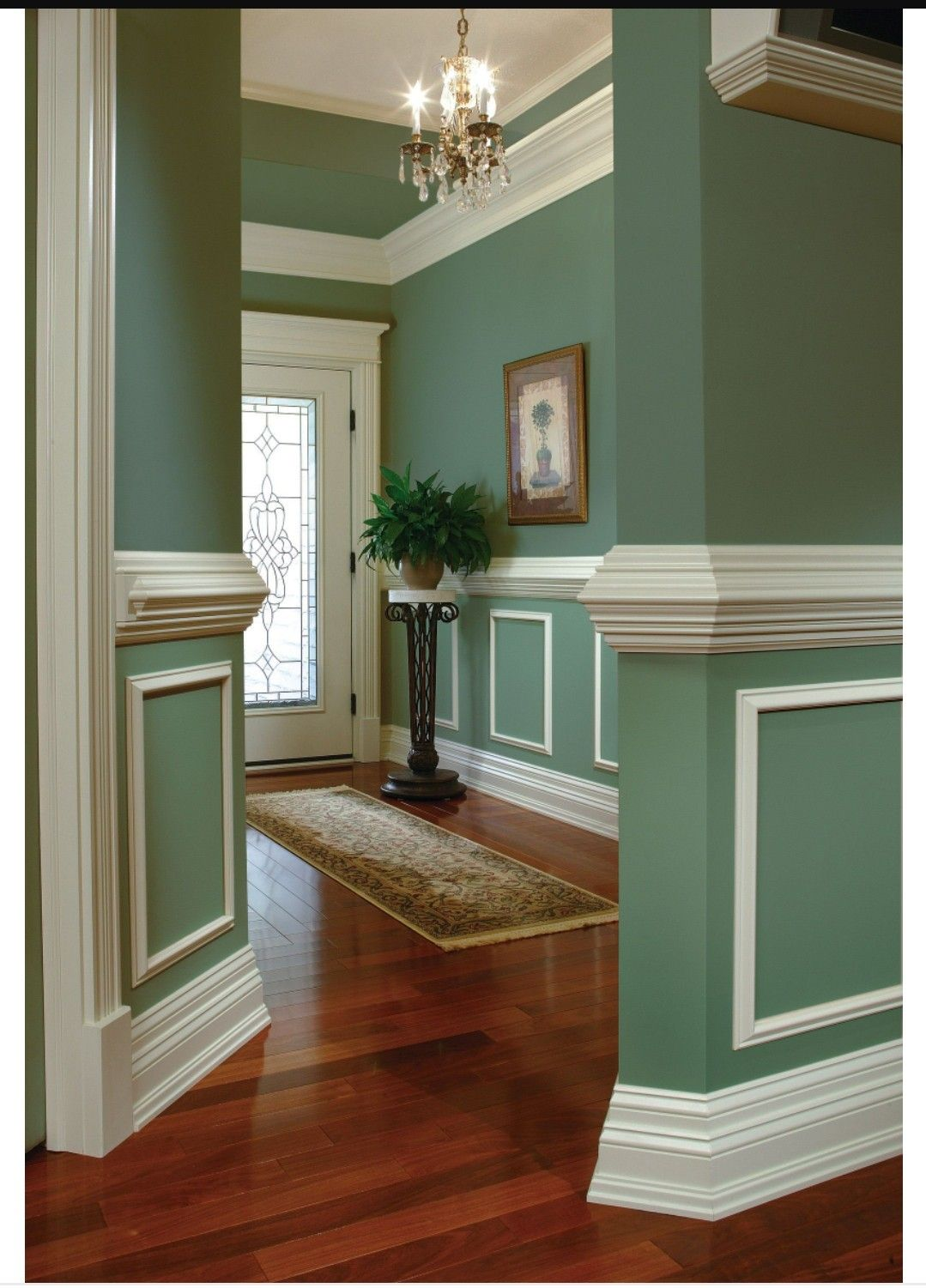 Pin By Iris T Baker On Home Decor Ideas House Design Home Wall Molding Design