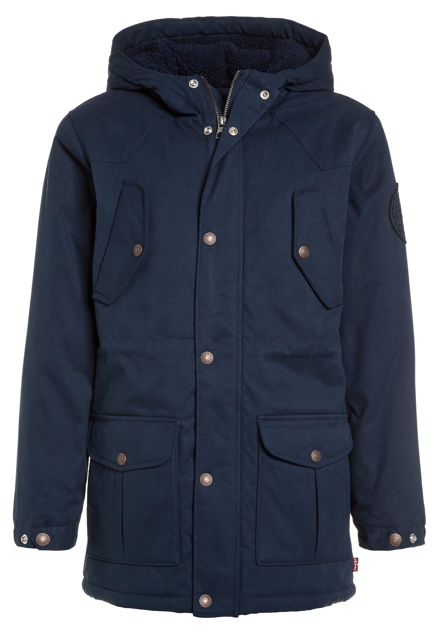 Blue Dress D'hiver Manteaux Veste Manteau Levi's® Bleu Fl1J3TuKc5