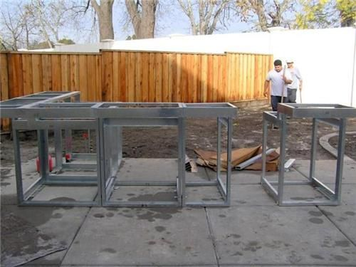 outdoor kitchen construction – masonry, wood, kits & prefab