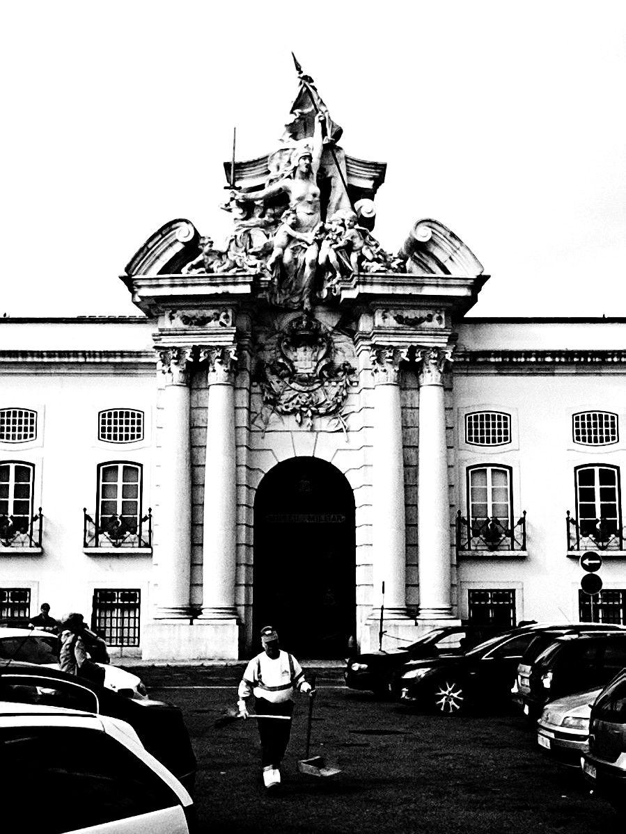 Lisboa. Um portico imponente.